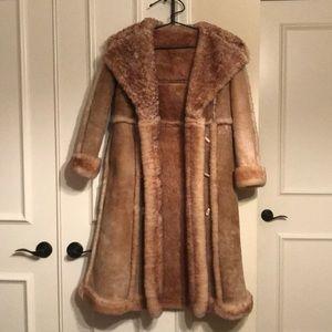 Jackets & Blazers - Vintage shearling coat